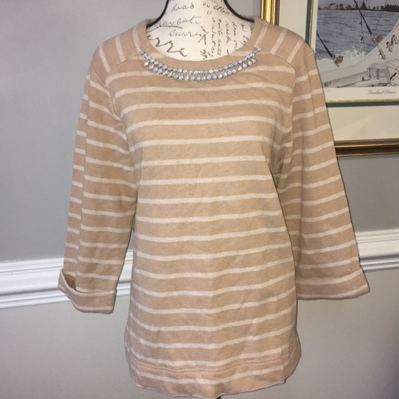 54% off Coldwater Creek Sweaters - NWT Cotton Sweater w ...